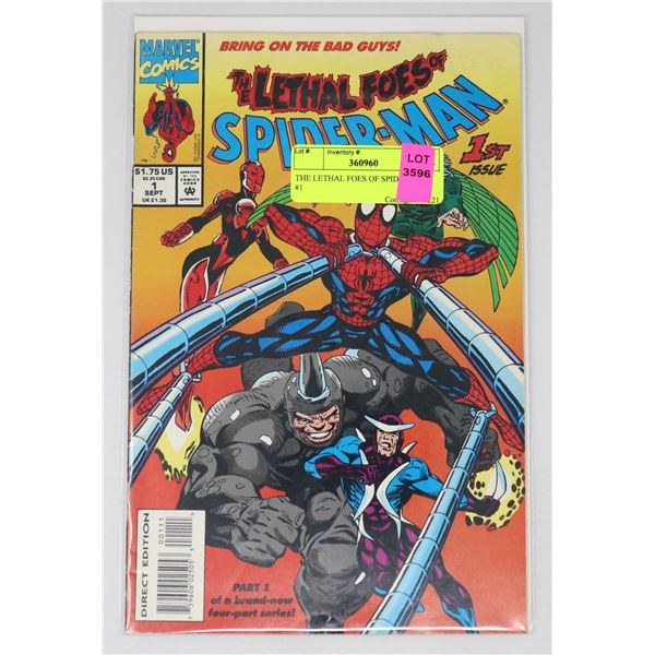 THE LETHAL FOES OF SPIDER-MAN #1
