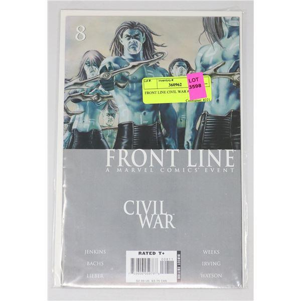 FRONT LINE CIVIL WAR #8
