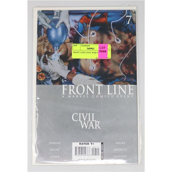 FRONT LINE CIVIL WAR #7