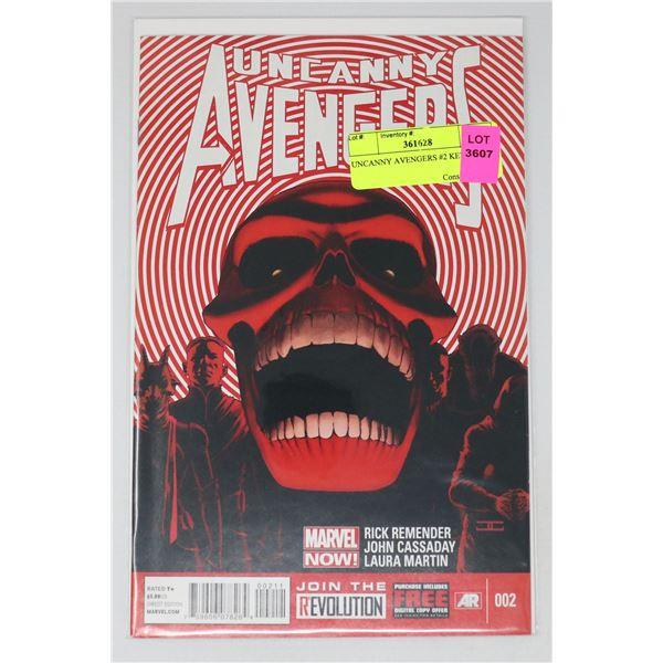 UNCANNY AVENGERS #2 KEY ISSUE