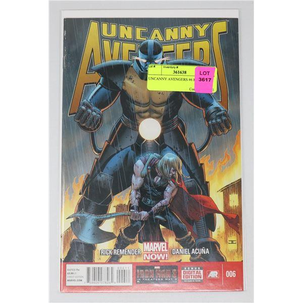 UNCANNY AVENGERS #6 KEY ISSUE