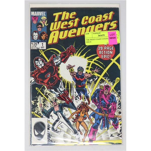 THE WEST COAST AVENGERS #1 KEY ISSUE