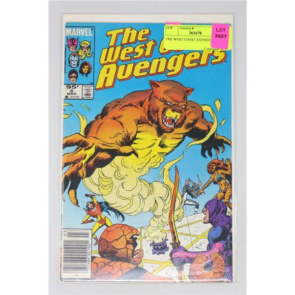 THE WEST COAST AVENGERS #6