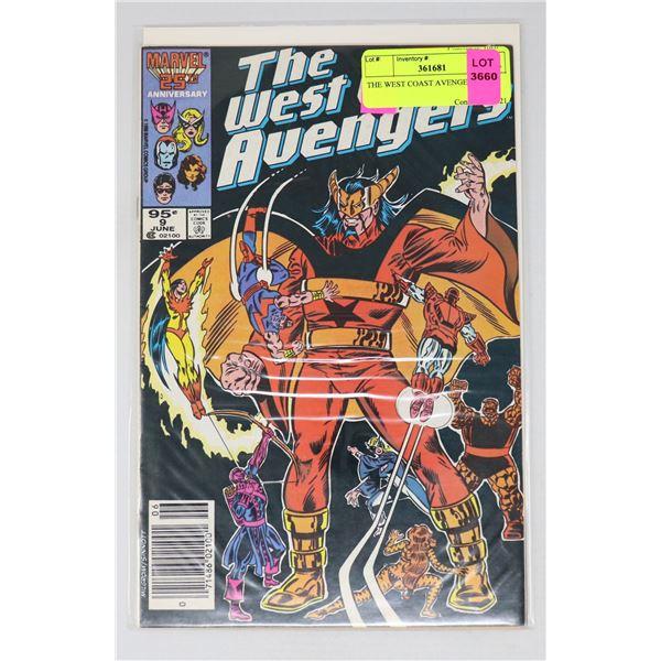 THE WEST COAST AVENGERS #9