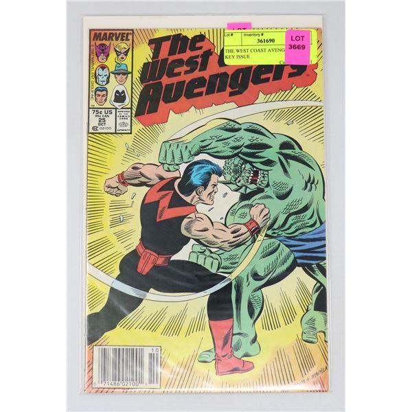 THE WEST COAST AVENGERS #25 KEY ISSUE
