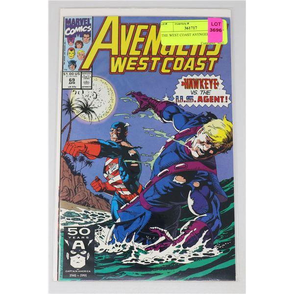 THE WEST COAST AVENGERS #69