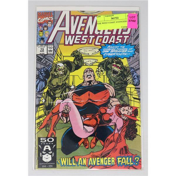 THE WEST COAST AVENGERS #73