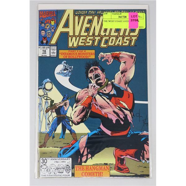 THE WEST COAST AVENGERS #78