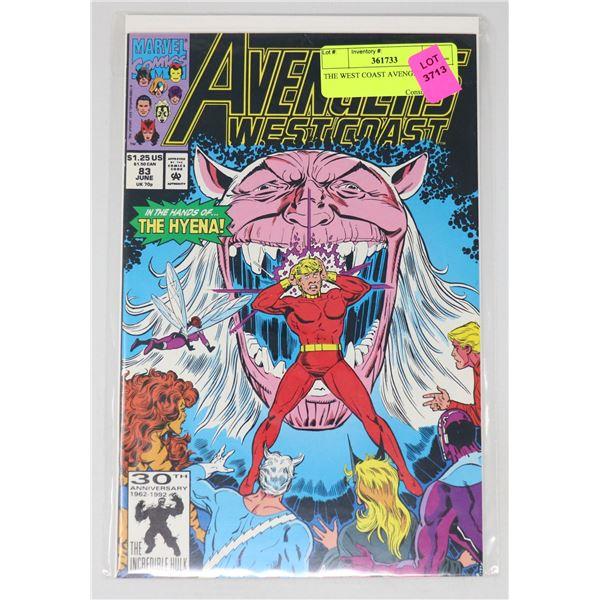 THE WEST COAST AVENGERS #83
