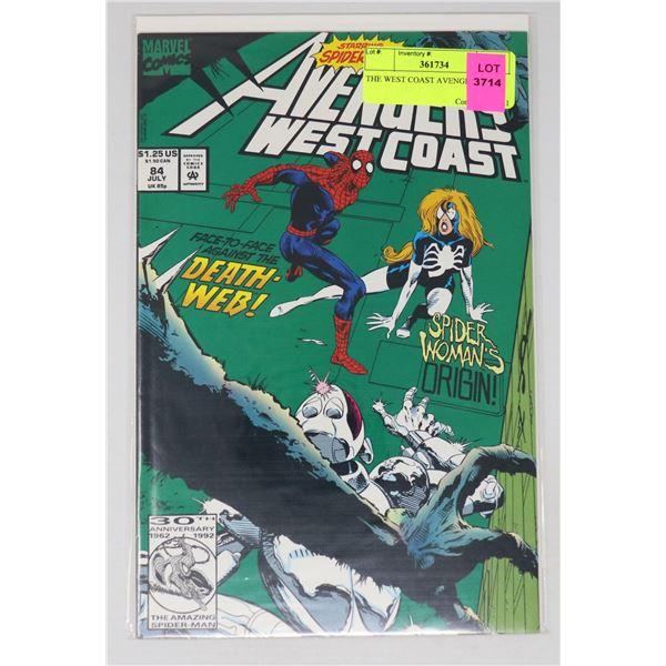 THE WEST COAST AVENGERS #84