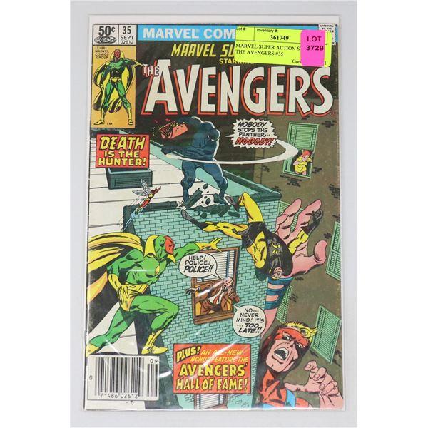 MARVEL SUPER ACTION STARRING THE AVENGERS #35