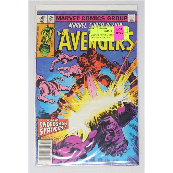 MARVEL SUPER ACTION STARRING THE AVENGERS #26