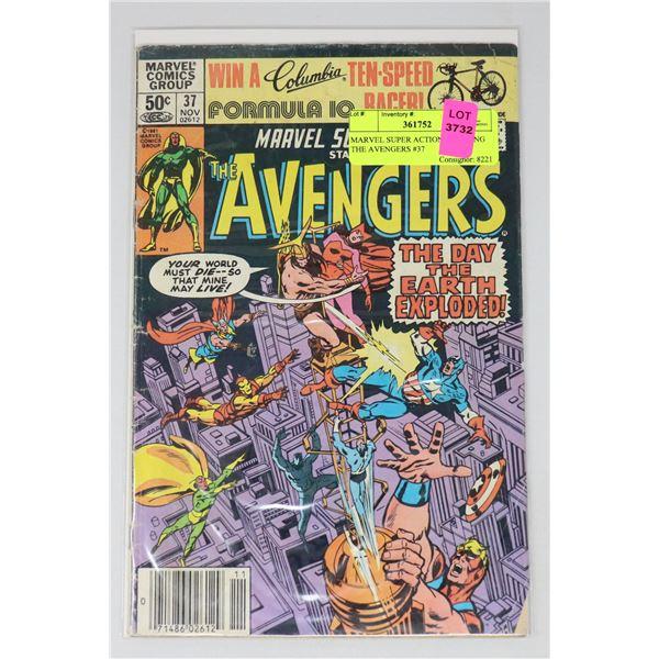 MARVEL SUPER ACTION STARRING THE AVENGERS #37