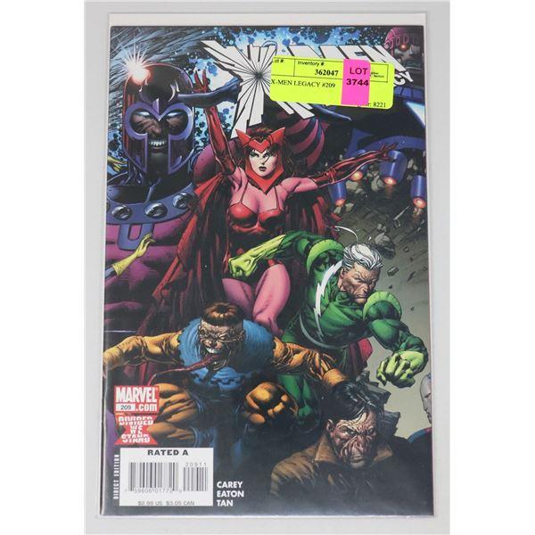 X-MEN LEGACY #209
