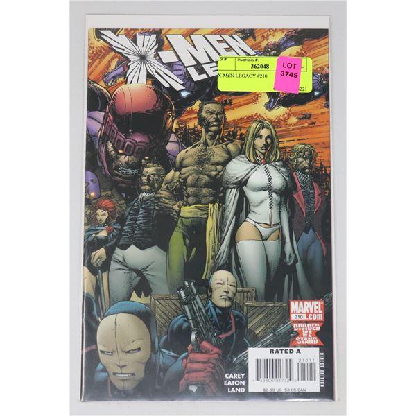 X-MEN LEGACY #210