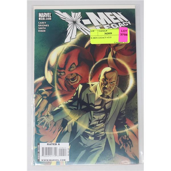 X-MEN LEGACY #219