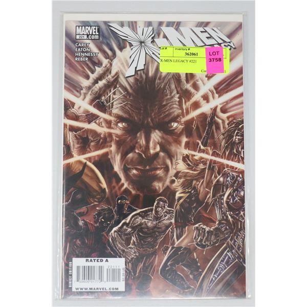 X-MEN LEGACY #221