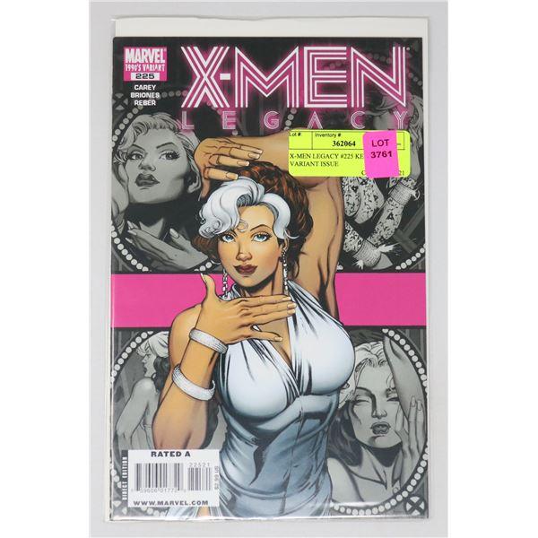 X-MEN LEGACY #225 KEY 1990'S VARIANT ISSUE
