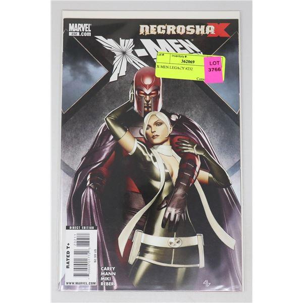 X-MEN LEGACY #232