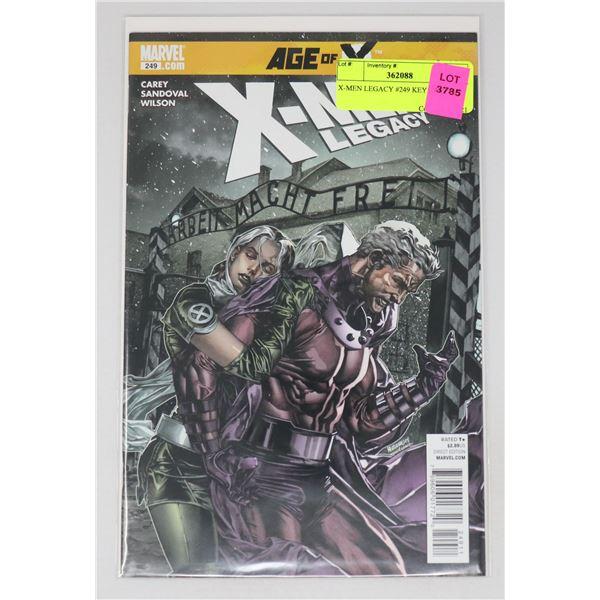 X-MEN LEGACY #249 KEY ISSUE
