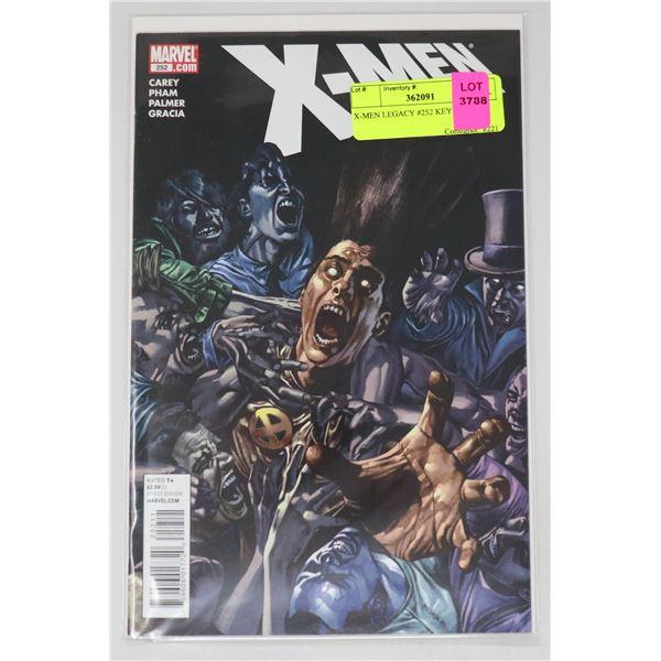 X-MEN LEGACY #252 KEY ISSUE