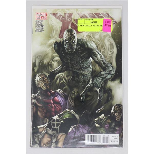 X-MEN LEGACY #253 KEY ISSUE