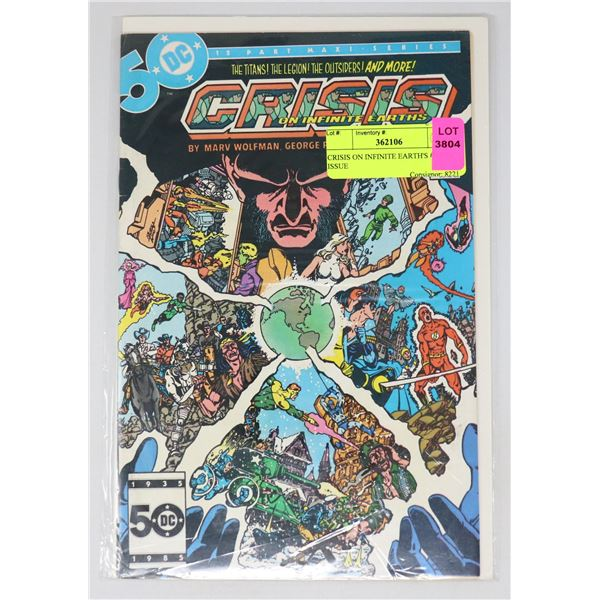 CRISIS ON INFINITE EARTH'S #3 KEY ISSUE