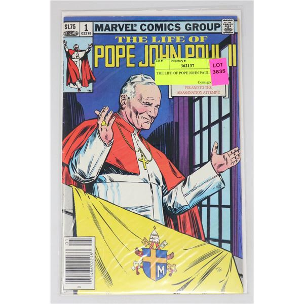 THE LIFE OF POPE JOHN PAUL !!