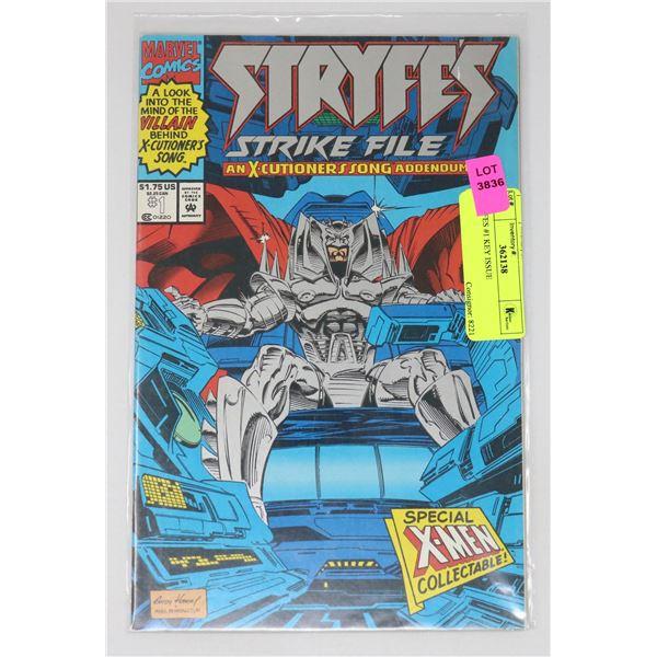 STRYFES #1 KEY ISSUE