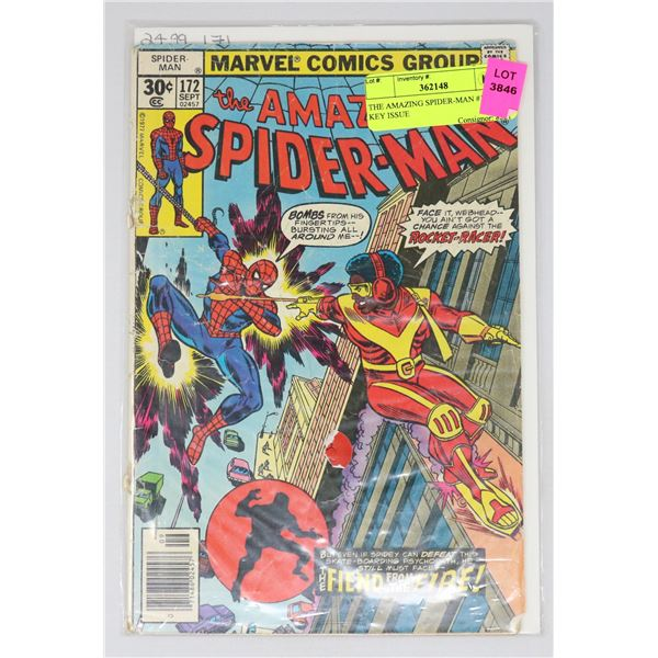 THE AMAZING SPIDER-MAN #172 KEY ISSUE