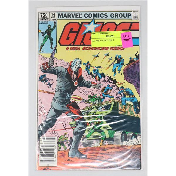 G.I. JOE #14 KEY ISSUE