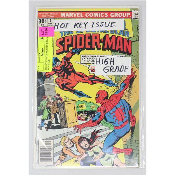 THE SPECTACULAR SPIDER-MAN #1 KEY ISSUE
