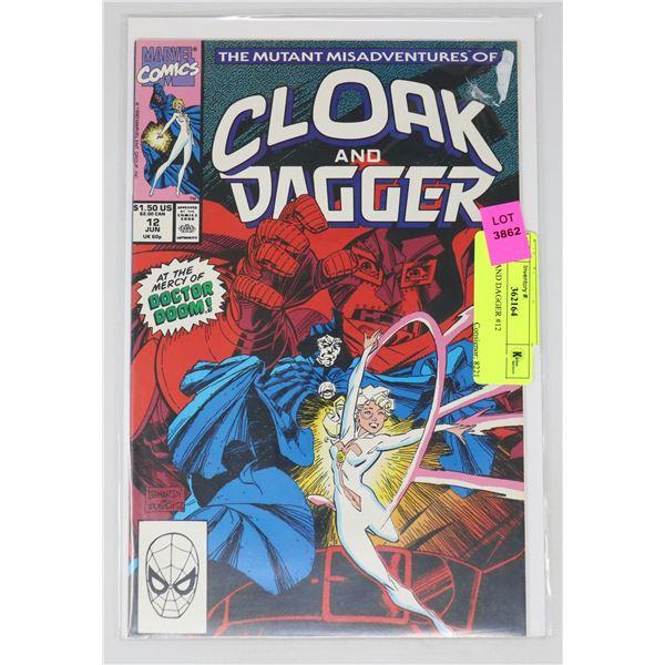 CLOAK AND DAGGER #12