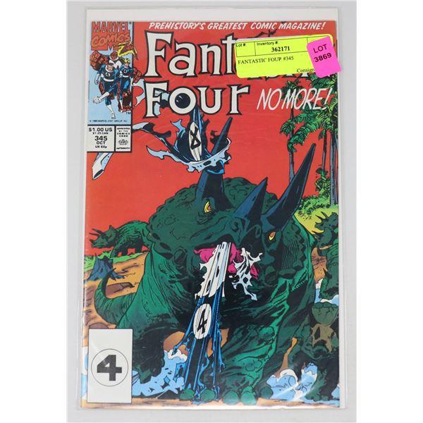 FANTASTIC FOUR #345