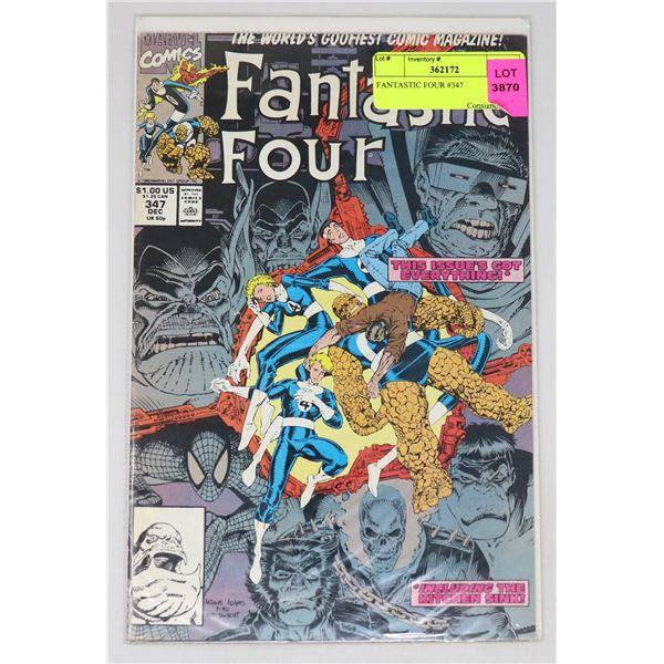 FANTASTIC FOUR #347