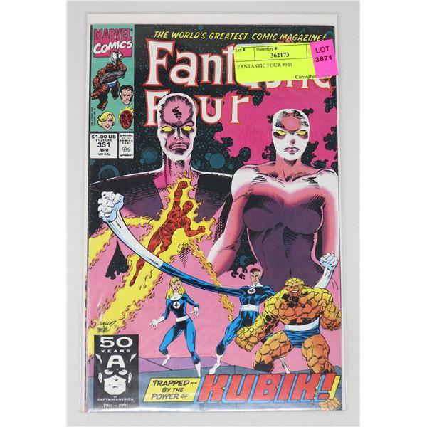 FANTASTIC FOUR #351