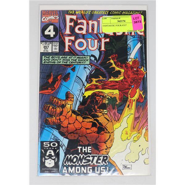 FANTASTIC FOUR #357