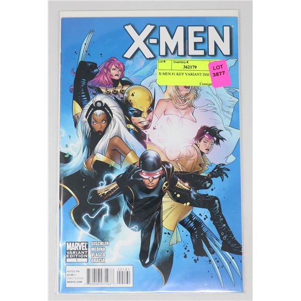 X-MEN #1 KEY VARIANT ISSUE