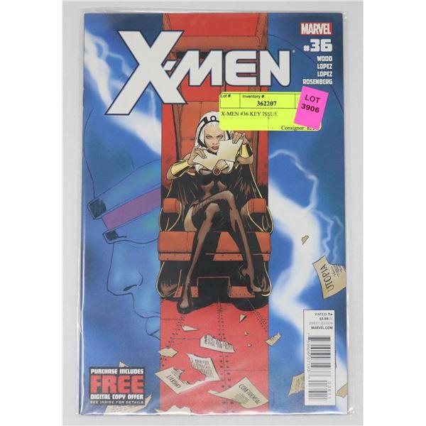 X-MEN #36 KEY ISSUE