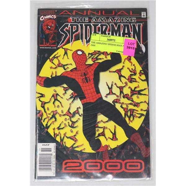 THE AMAZING SPIDER-MAN ANNUAL 2000