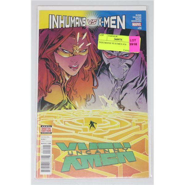INHUMANS VS X-MEN #16