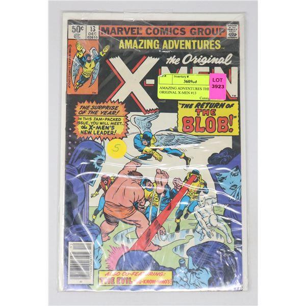 AMAZING ADVENTURES THE ORIGINAL X-MEN #13