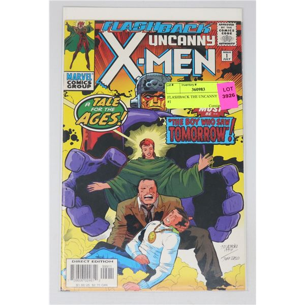 FLASHBACK THE UNCANNY X-MEN #1