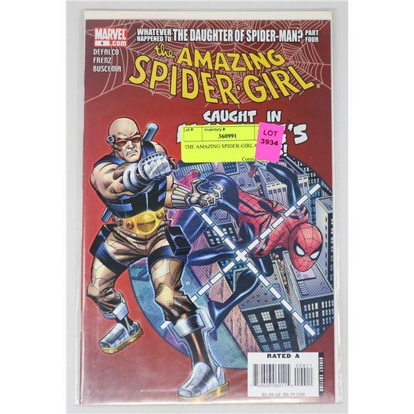 THE AMAZING SPIDER-GIRL #4