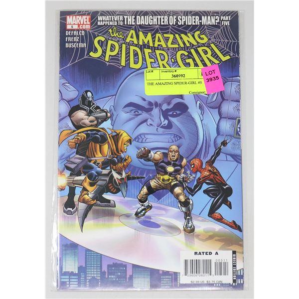 THE AMAZING SPIDER-GIRL #5
