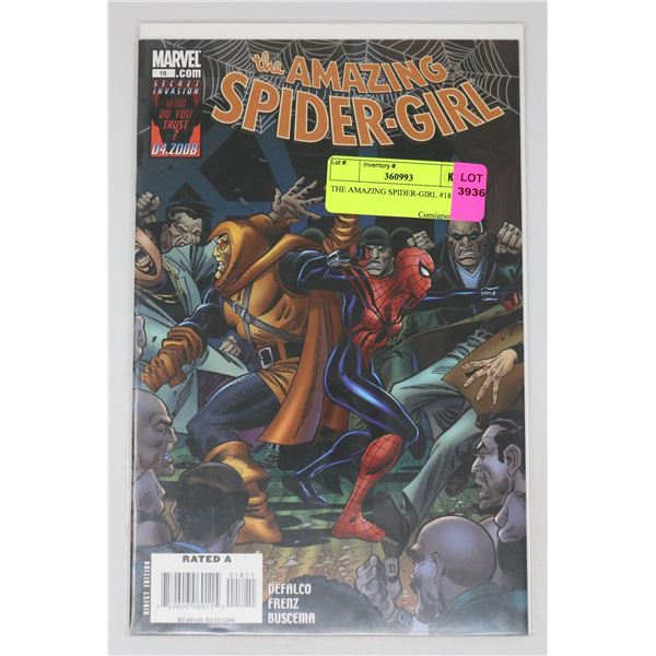 THE AMAZING SPIDER-GIRL #18