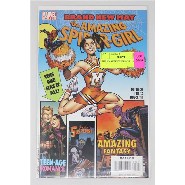 THE AMAZING SPIDER-GIRL #20