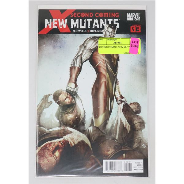 SECOND COMING NEW MUTANTS #3