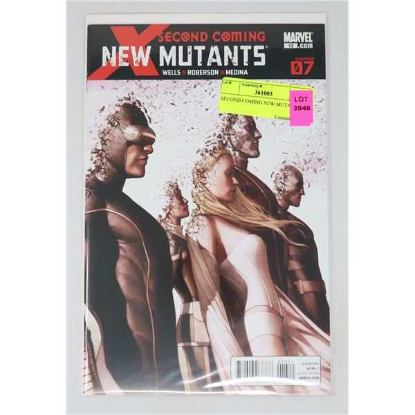 SECOND COMING NEW MUTANTS #7