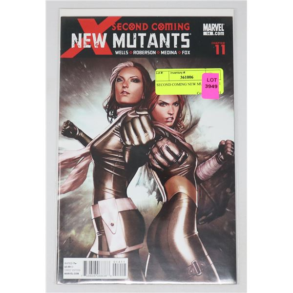 SECOND COMING NEW MUTANTS #11